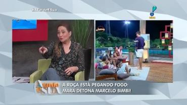 'Ela n�o � maluca mas entrou doida', sugere Sonia Abr�o sobre Mara (2)