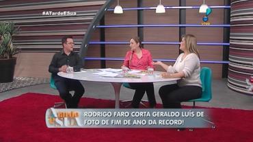 Em meio a rumores de briga, Rodrigo Faro corta Geraldo Lu�s em foto (6)