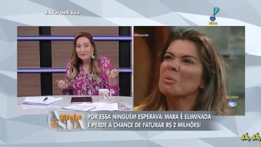 Sonia Abr�o acusa emissora de 'perseguir' Mara Maravilha (1)