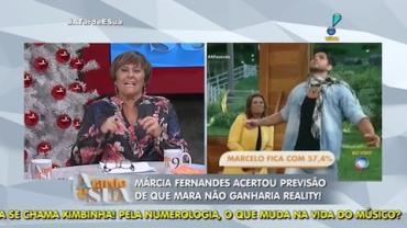 Sensitiva acertou previs�o de sa�da de Mara Maravilha (4)