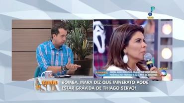 Mara Maravilha reclama de Portal da emissora (1)