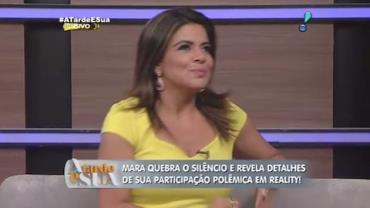 Mara Maravilha diz que Ovelha foi chantageado