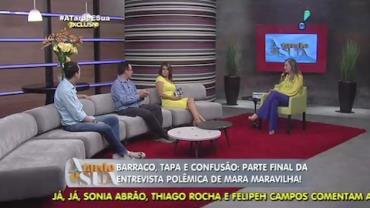 Mara Maravilha confessa 'queda' por Minerato