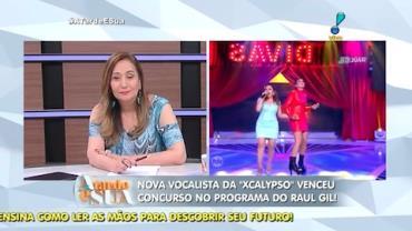 Terceira vocalista da XCalypso foi revelada em programa de TV (1)