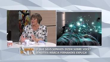 'Sonhos s�o desejos reprimidos', explica sensitiva (1)