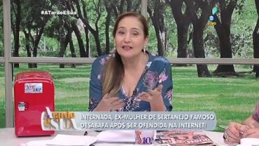 Ex-mulher de sertanejo � ofendida por jornalista na internet (2)
