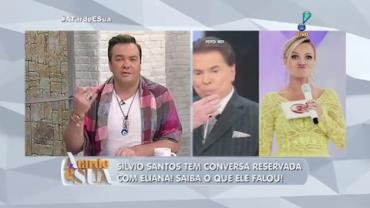 Silvio Santos tem conversa secreta com Eliana (5)