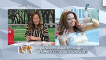 Faust�o vai 'bancar' casamento de Viviane Ara�jo (6)