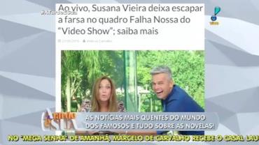 Sonia Abr�o comenta gafe de Susana Vieira (1)