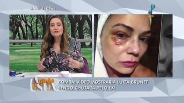 Sonia sobre v�deo que prova agress�o � Brunet: