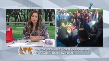 Sertanejo morre em acidente de carro a 5 quil�metros de casa