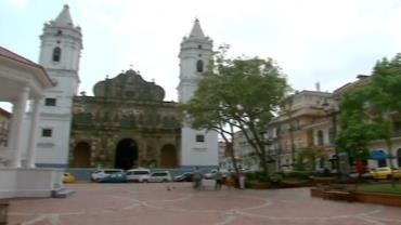 Casco Viejo foi constru�do com ru�nas de cidade atacada por piratas