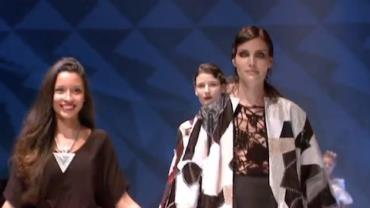 Modelos internacionais exibem looks no Senai Brasil Fashion