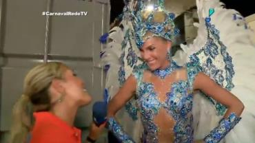 'Est� sendo o Carnaval mais divertido de todos', comemora Ana Hickmann
