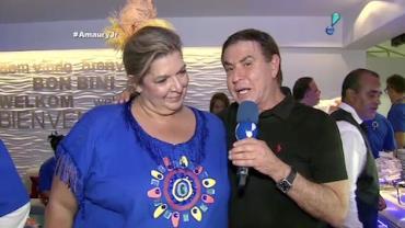 'Quero me casar em Cura�ao', diz Amaury Jr.