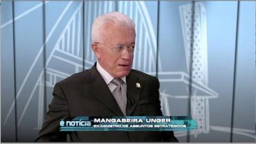 Roberto Mangabeira Unger, fil�sofo e professor da Universidade de Harvard