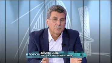 Romero Juc�, presidente do PMDB