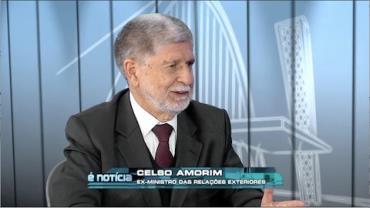 Celso Amorim, ex-ministro das Rela��es Exteriores
