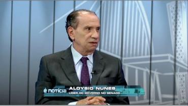 Aloysio Nunes Ferreira, l�der do governo Temer no Senado
