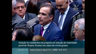 Deputados se preparam para votar redu��o da maioridade penal