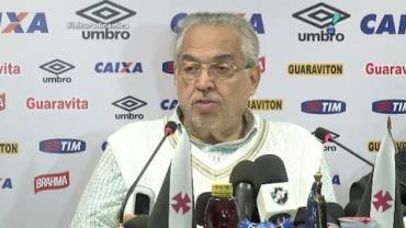 Representantes do Vasco admitem d�bitos financeiros