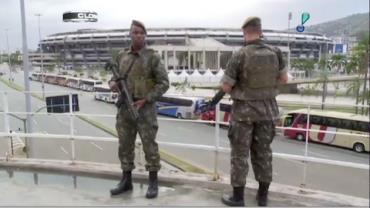 For�as Armadas n�o deixar�o o RJ ap�s o t�rmino dos Jogos Paral�mpicos