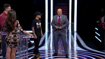Mc Rodolfinho exibe 'tanquinho' e Marcelo de Carvalho tira sarro da cena