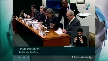 Ex-gerente da Petrobras presta depoimento na CPI
