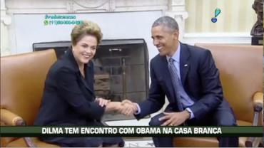 Dilma tem encontro com Obama na Casa Branca