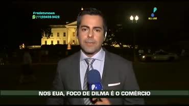 Presidente Dilma foca o com�rcio em visita aos EUA