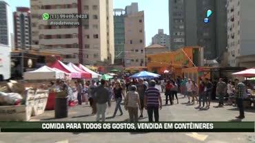 Amantes de comida de rua ganham Food Park em S�o Paulo