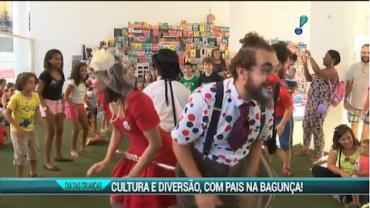 Cultura e muita divers�o no dia das crian�as no Rio de Janeiro