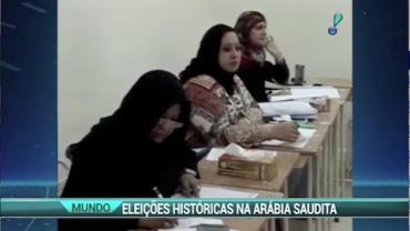 Pela 1� vez mulheres v�o participar das elei��es na Ar�bia Saudita