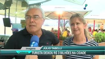 Turista deixou R$ 3 bilh�es no Carnaval do Rio de Janeiro