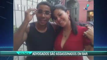 Advogados s�o assassinados em tentativa de assalto em bar no RJ