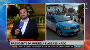 Presidente da Portela � morto a tiros no Rio