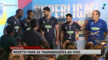RedeTV! far� 52 transmiss�es da Superliga de V�lei ao vivo