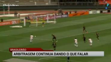 Rodada do Brasileir�o � marcada novamente por erros de arbitragem