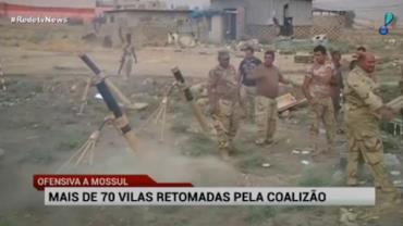 Mais de 70 vilas s�o retomadas ap�s ofensivas em Mossul