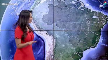 Tempestades devem atingir o Sudeste e o Centro-Oeste do Brasil