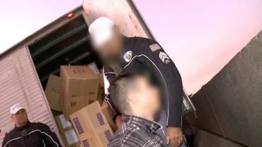 Motorista confessa transporte de carga roubada: 'Me compliquei'