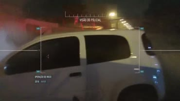 Ladr�o rouba carro e pol�cia inicia persegui��o eletrizante