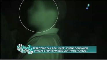 Parque do Ibirapuera abriga local onde jovens usam drogas e praticam sexo