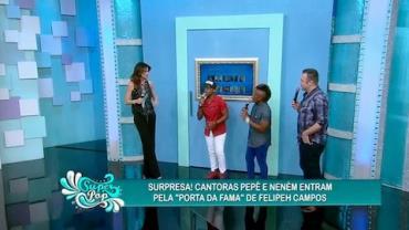 Luciana quer saber quem 'pilhava' cantoras em reality