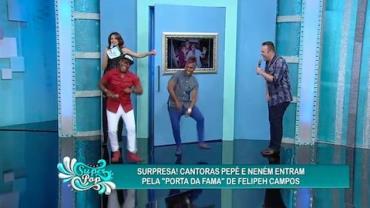 Felipeh garante que briga com Pep� e Nen�m ficou no passado