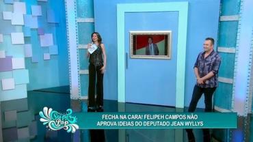 Felipeh fecha a porta na cara de Jean Wyllys
