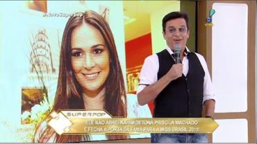 Nahim critica postura de ex-miss Brasil em reality