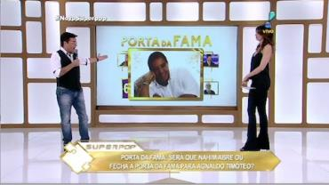 Nahim sobre Agnaldo Tim�teo: 'N�o sei se ele gosta de menina ou de menino'