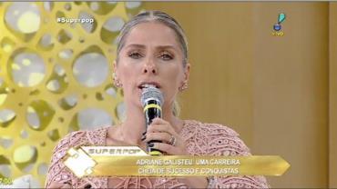 Adriane Galisteu recorda que nem o dinheiro p�de salvar seu irm�o
