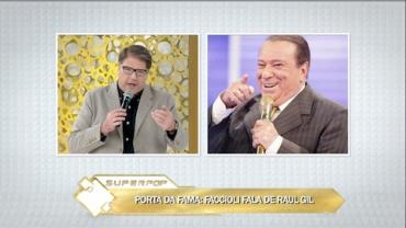 Luciano Faccioli pede licen�a aos evang�licos: